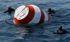 Exercises on search and rescue of recovery capsule at sea in Vladivostok