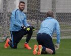 FC Zenit's training session before Champions League match against Belgium's Standard