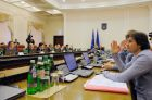 Meeting of Ukraine's Cabinet of Ministers