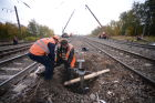 Railway crossing accident outside Moscow