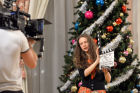 "Shooting of the Christmas comedy ""Fir Trees 1914"" in Omsk"