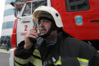 Firefighting exercise at the Grozny City high-rise development