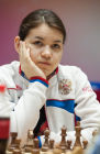World Chess Championship. Women. Day One.