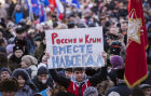 Reunification campaign across Russia