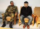 ISIS militants captured by Syrian security services