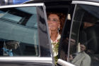 Nikas Safronov opens his exhibition