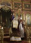 Easter service at Christ the Savior Cathedral in Moscow