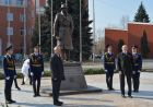 Unveiling of monument to Soviet intelligence officer Iskhak Akhmerov