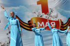 May Day marches in Russia