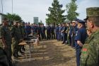 Russian, Belarusian air forces and air-defense forces conduct joint exercise at Telemba center