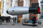 Replica of Tsar Bomba hydrogen bomb delivered to Moscow