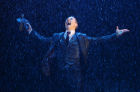 "Open rehearsal of musical ""Singin' in the Rain"""