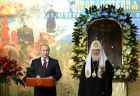Vladimir Putin attends exhibition devoted to Russia's history of first half of the 20th century