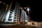 Construction of new residential areas in Novgorod Region