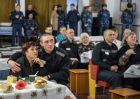 Mother's Day at prison in Omsk Region, Russia