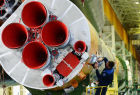Soyuz-FG booster with Soyuz-TMA 19M assembly completed, ready to go to launch pad