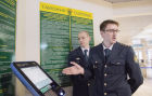 Customs duties payment machine installed at Domodedovo International Airport