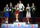 Figure skating. Russian championship. Awards ceremony