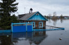 Flood in the Omsk Region