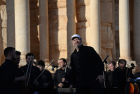 Mariinsky Theater orchestra performs in Palmyra