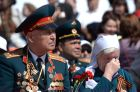 Victory Day Parade in Russian cities