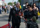 Celebrating 71th anniversary of Victory in Great Patriotic War