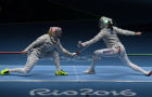 2016 Summer Olympics. Fencing. Women's saber team