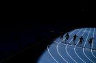 2016 Summer Olympics. Track and field athletics. Running. 100m