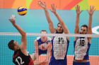 The 2016 Summer Olympics. Volleyball. Men. Canada vs. Russia