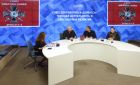 "News conference ""Donbass Volunteer Union: current activities and prospects"""