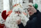 Father Frost from Veliky Ustyug visits Yekaterinburg
