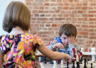 Children's chess tournament in Moscow