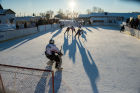 Inmate hockey match in Omsk