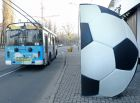 Football-shaped bus stops for 2018 World Cup in Kaliningrad