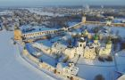 Central Russia monasteries and churches