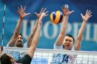 Russian Volleyball Super League. Men. Dynamo (Moscow) vs. Belogorie