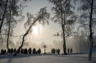 Epiphany Day celebrations in Russian cities