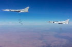 Russian Aerospace Forces' multiple air attack on terrorist facilities in Syria