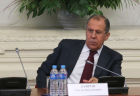 Foreign Minister Sergei Lavrov meets with students and staff of Foreign Ministry's Diplomatic Academy