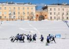 Snow Bowl American snow football tournament in Petrozavodsk