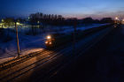 West Siberian Railway. 100th anniversary of Trans-Siberian Railway