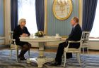 President Vladimir Putin meets with French presidential candidate Marine Le Pen