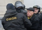 Unauthorized protest held in Minsk