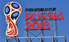 Logo of 2018 FIFA World Cup Russia