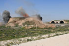 U.S. strikes Syrian military airfield