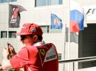 Preparations for Russian stage of F1 World Racing Championship
