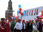 May Day demonstration on Red Square