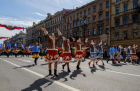 May Day celebrations in Russian cities