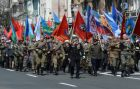 Military parade in Russian cities marking the 72nd anniversary of Victory