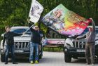 Russia's Golden Ring car and bike rally